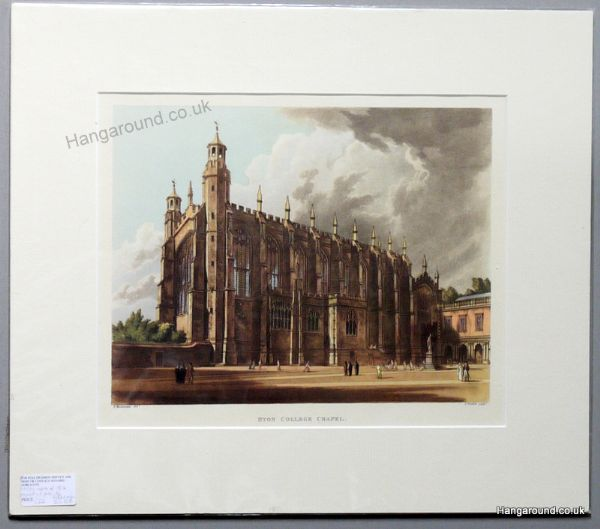 Eton College - Chapel (Ackerman) - Eto 8